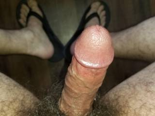 Sitting In Front Of My Hotel Room Window, Showing Off My Big Hard Hairy Cock