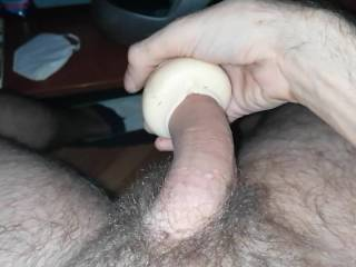 You can cum hard with this, good feeling inside. Its a trio package, pussy,ass and mouth.Every one is different when you put it inside 👌😉