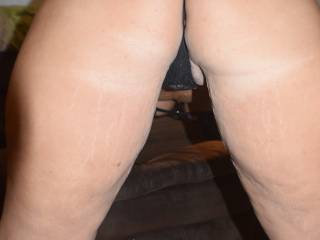 Would you like to pull my thong aside and slide inside?