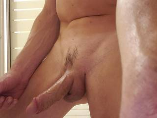 Getting on the shower. Who\'s cumming ?