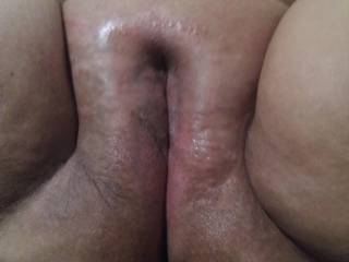 Some fat wet bald pussy for you...