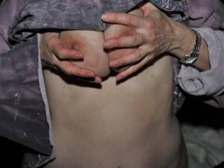 squeezing those titties