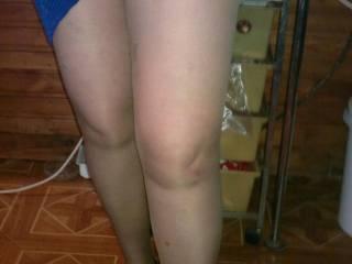 New pantyhose my wife)