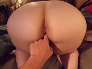 He was warming me up ready for a hot cock