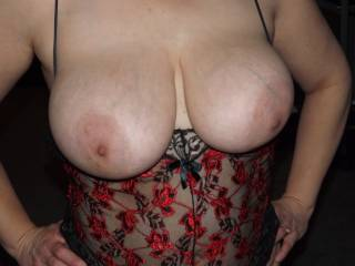 I want to Kiss, Lick and Suck on your Beautiful Breast and Large Aerola's and NIPPLES..  Love and Kisses, Maryann