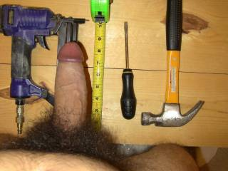 You could fix my wet pussy with your big tool...