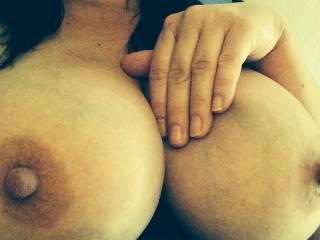 Big tit slut, loves anal
