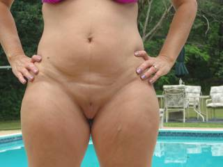 I'd love to join. You have beautiful sexy body. I'd love sit you on the edge of the pool and lick your hot pussy mmm