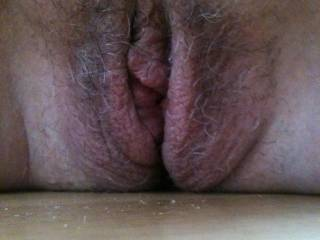 I'd prefer you smooth too but that would stop me eating your pussy as it is and making you cum with my tongue.