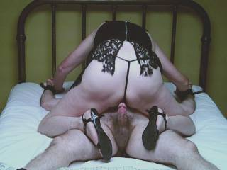 She got to have her way with him too!  Like teasing Mr Dick with Ms Puss...making him beg for insertion.