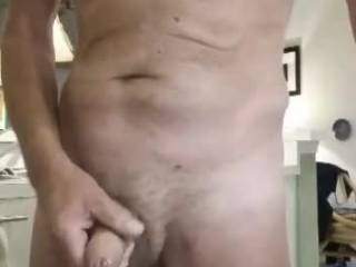 This is the end clip of me masturbating in the kitchen. In the past year I have developed a big desire to cum on camera. Originally it was just for fun with me wife. Now it really excites me to share these with so many people on Zoig. Show me your cum.