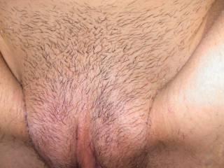 Cum on her pussy