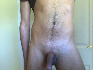 stripping off