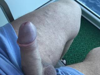 Thats better, do you like my cock head ? How about making it cum for me