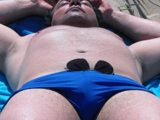 Me at the beach chilling..dreaming about a muscled hunk man with a fat huge dick lying beside me...steaming it up..does that sound like you? then msg me..