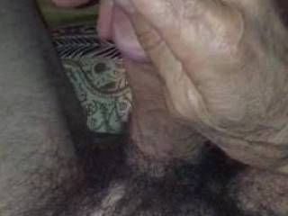i just love having the head of cock being caressed and stroked. It\'s my favorite activity alone and when I have a partner. Do you like to play with precum?