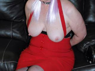 Tell Sherry what you would like to do with her IF you knocked on the door and she let you in for a slave play day???  Girls or Guys??