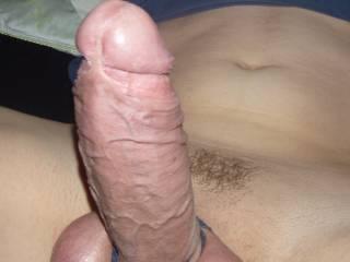 Bondage balls and hard cock