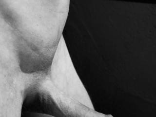some erotic black and white selfshots of my dick. Hope you like it.
