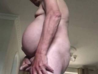 Just a quick wank. Wish I had zoig friend to suck my cock