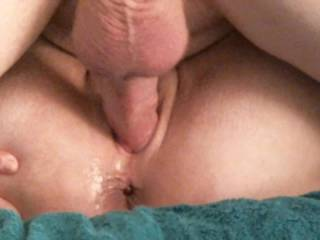 More of her wet pussy getting filled