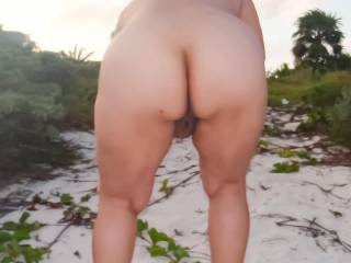 One of the best parts of a beach vacation is getting naked on the beach!