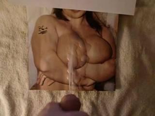 cum on big tit pic #5 ;-)