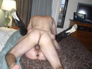 I am cumming to town soon. Would love to take that plug out of your ass and replace it with my real cock. Interested in a little play?