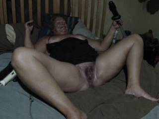 Wow I would love to eat out your wet juicy pussy after you fucked your self with them toys