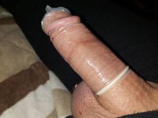 Condom on
