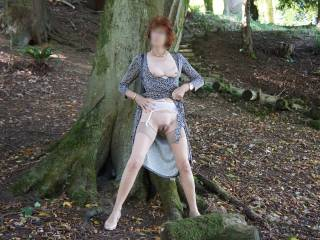 Having fun posing outdoors in the sunshine, exciting or should I stop?