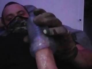 I love stroking my cock