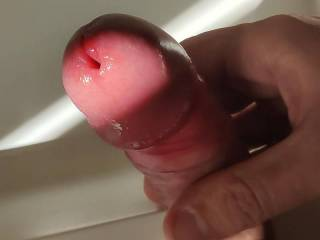 I was so horny that day while playing with a friend. Edged for long and my cock was extremely sensitive and exploded hands-free with such a intense orgasm that I still remember