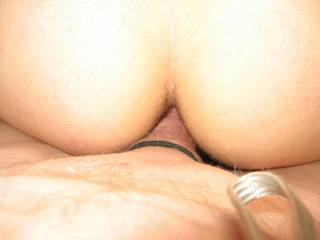 In we go after a .good fingering. Just the right size for my cock.
