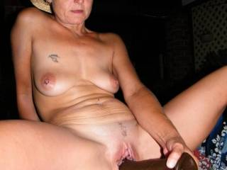 I have the real thing here for you.  You are very sexy and would look amazing on my big black cock.