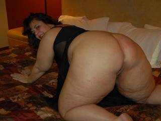 Who loves Naughty V\'s big ass?  She has enough ass and a sex drive to ruin 10 men!