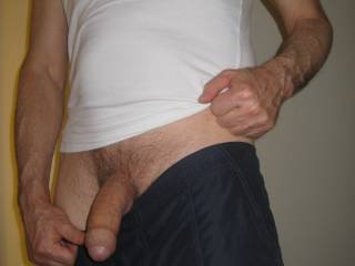 Great looking uncut cock, really nice.