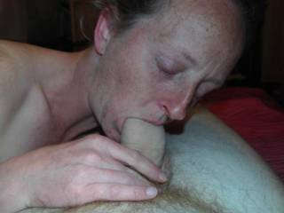 Gould girl!! She is an excellent cock sucker does she swallow?