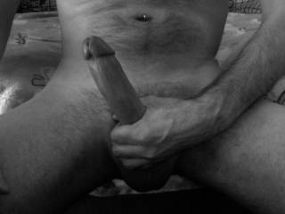 my response to my honey's long distance desires....  seeing her pussy pix made me rock hard