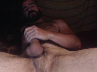 It\'s my one year anniversary on Zoig! I decided to celebrate by making my fat cock shoot a lot of cum!