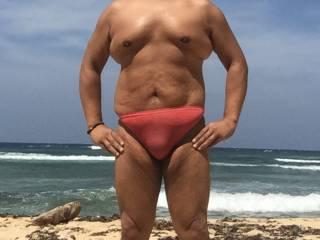 Thong, beach, philippines, sunbathing, bulge