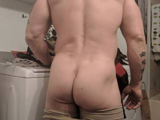 i started working out my butt , its small but soft to the touch , you wanna feel it ?