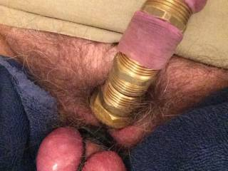 Modified cock with metal rings