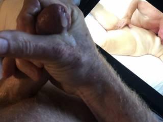 Cuming as I watch my friend pleasure his wife.