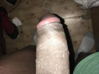 ya that's a good hard black thick long cock you can ride and bounce on