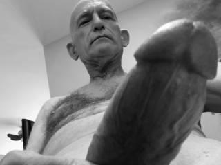 """Homme Sexuelle - Noir et Blanc Classique: """"Thick One"""""""