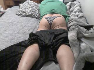 New panties:  Feels so comfy.