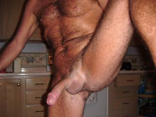 my cock in your face , like it?