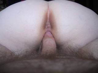 Il lick you both while you keep going she will love feeling my tounge fucking her ass