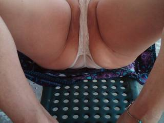I'd love to taste that sweet pussy! And give your ass a lick ot two!!!